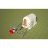 пластиковые домики для телят и вольеры